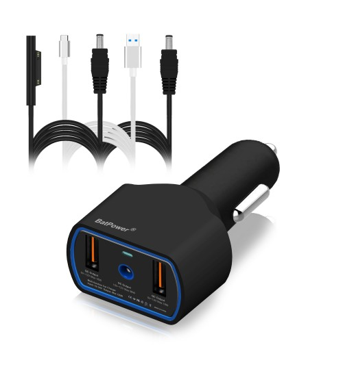 120W UL Listed CCS2 Car Charger For Microsoft