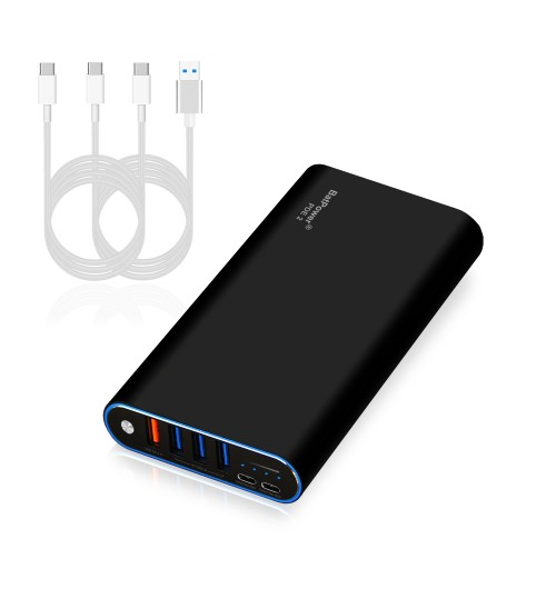 98Wh PDE 2 P26B 26800mAh Universal Laptop PD USB-C Power Bank External Battery Portable Charger
