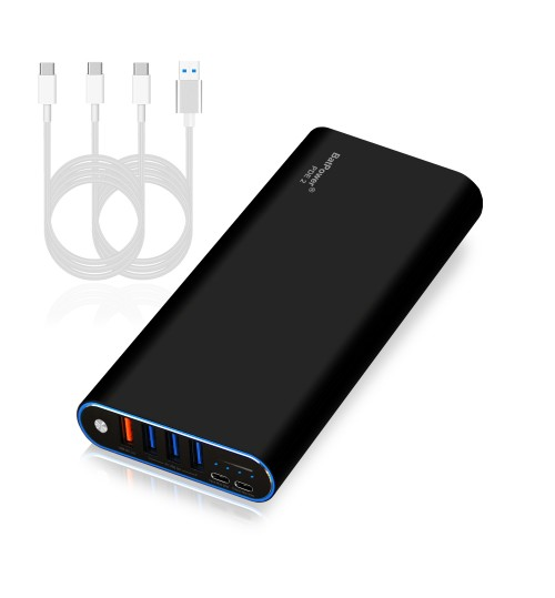 148Wh PDE 2 P40B 40000mAh Universal Laptop PD USB-C Power Bank External Battery Portable Charger