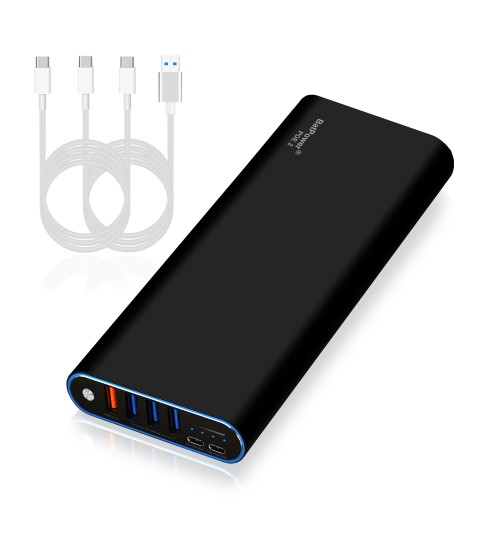210Wh PDE 2 P60B 56000mAh Universal Laptop PD USB-C Power Bank External Battery Portable Charger